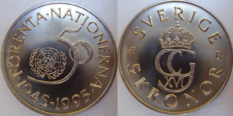 femkrona från 1972 värde